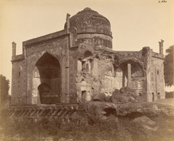 Agra. Chini-ka-Rauza. General view from the south-west 584